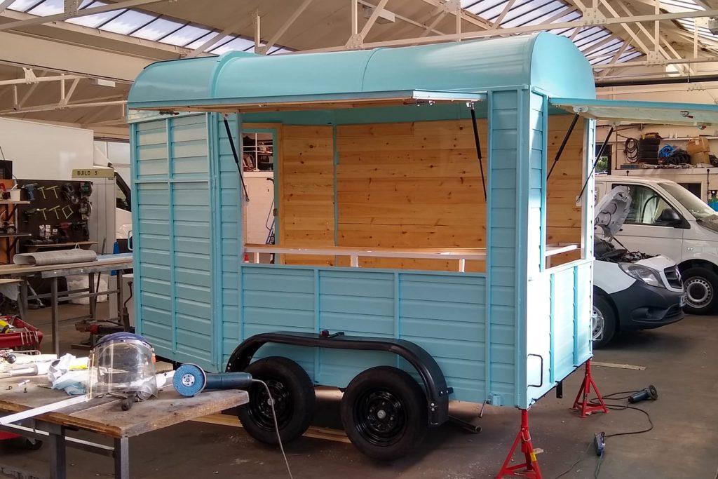 Horsebos Conversion - drawbar trailer