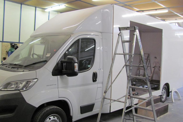 Chassis cab body construction