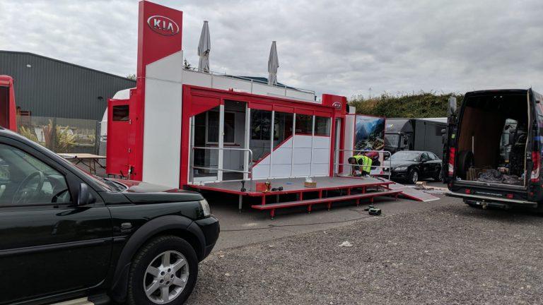 6 metre exhibition trailer