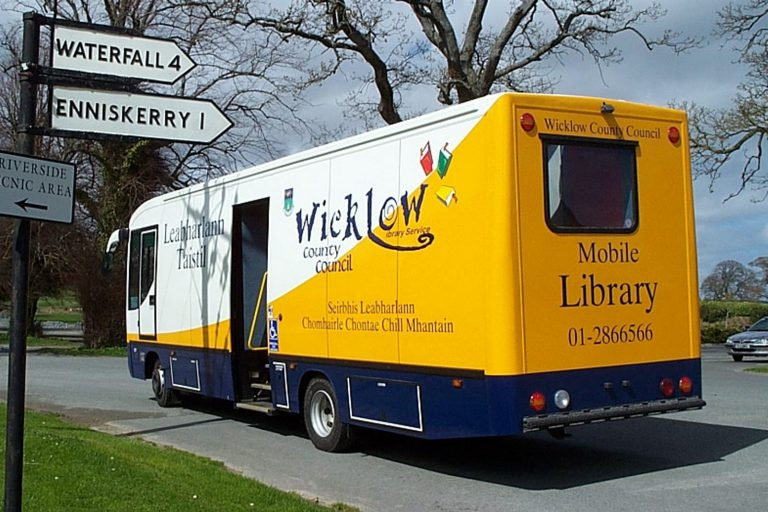 Mobile library rear