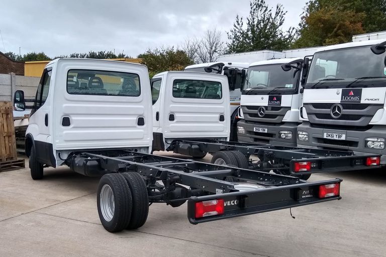 New chassis cabs