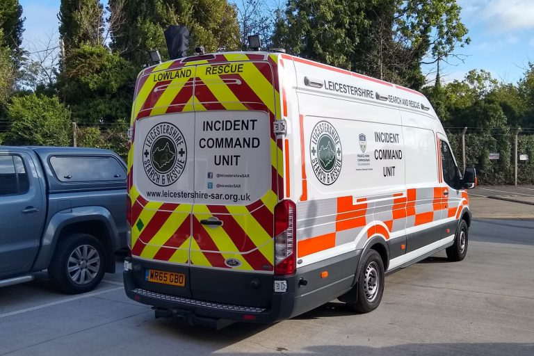 Rescue command mobile vehicle