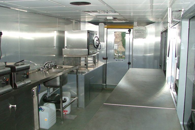 Catering bus conversion