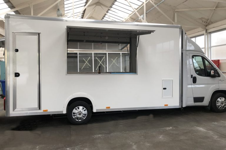 Catering vehicle in production