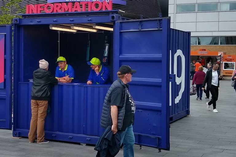 Container conversion as helpdesk