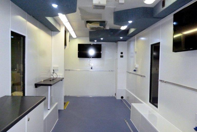 Display bus interior conversion
