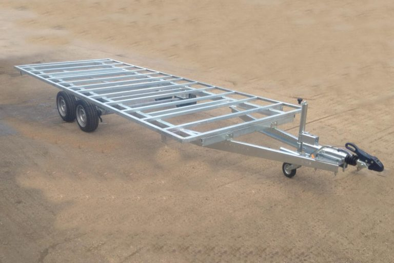 Draw bar chassis