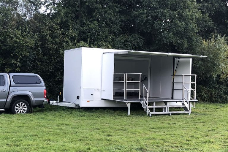 Event trailer chassis