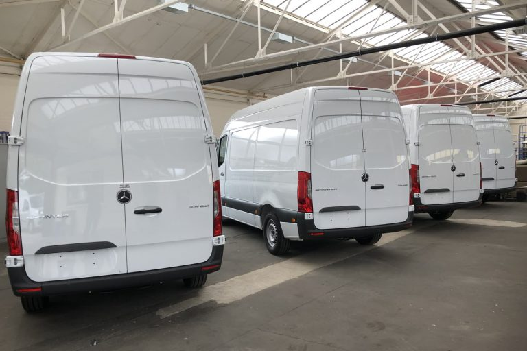 Van fleet production line