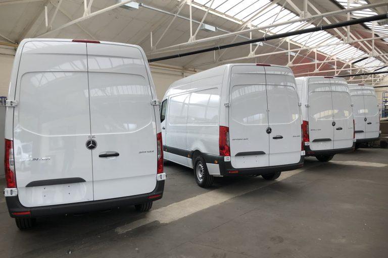Van fleet production line