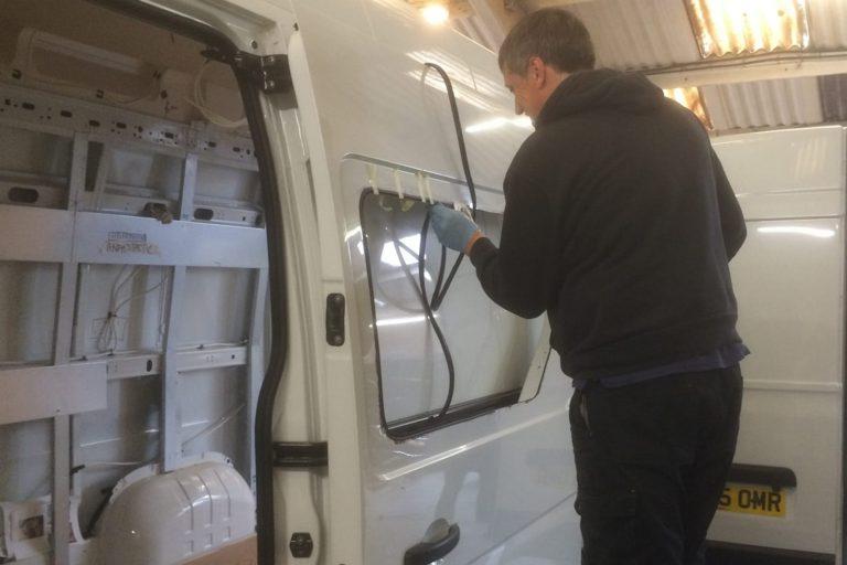 Fleet window installation