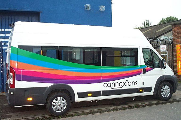 Outreach minibus