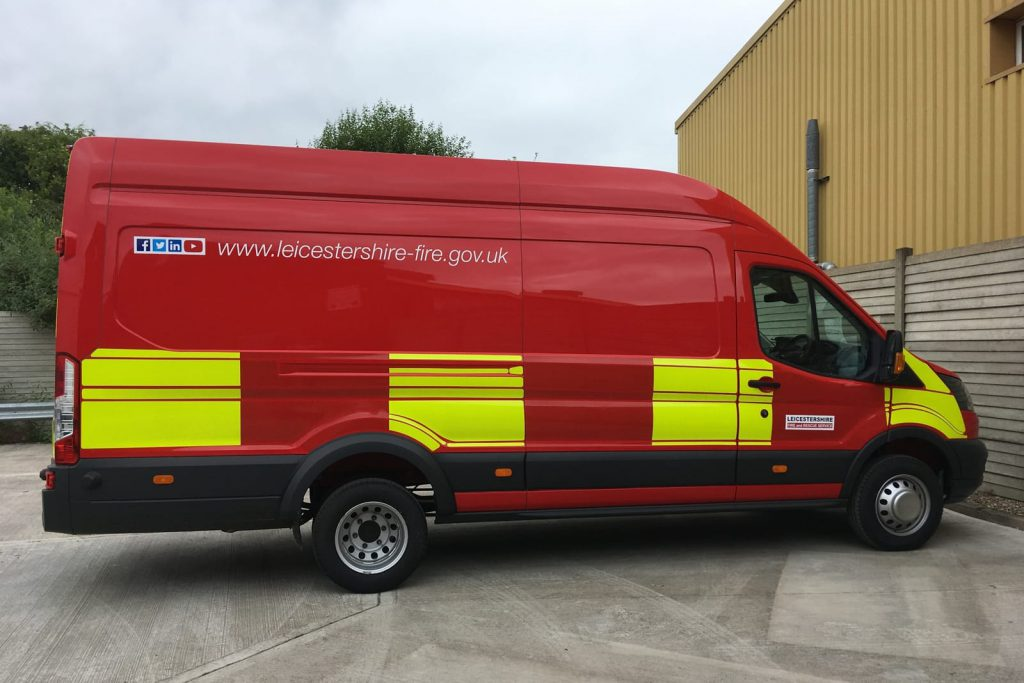 Rescue response van conversion