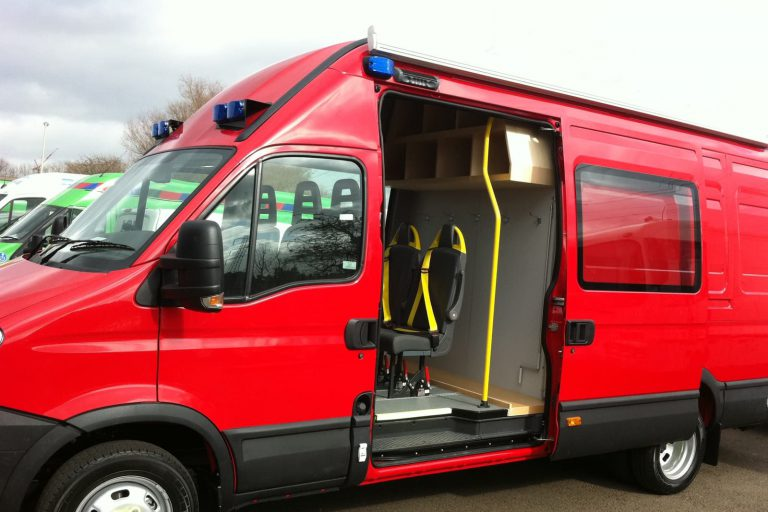 Rescue van conversion