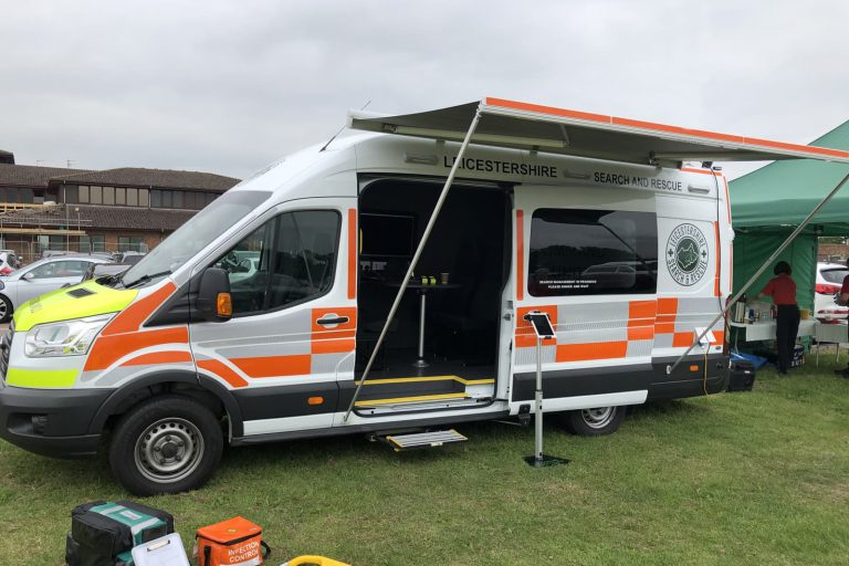 Search and rescue van conversion