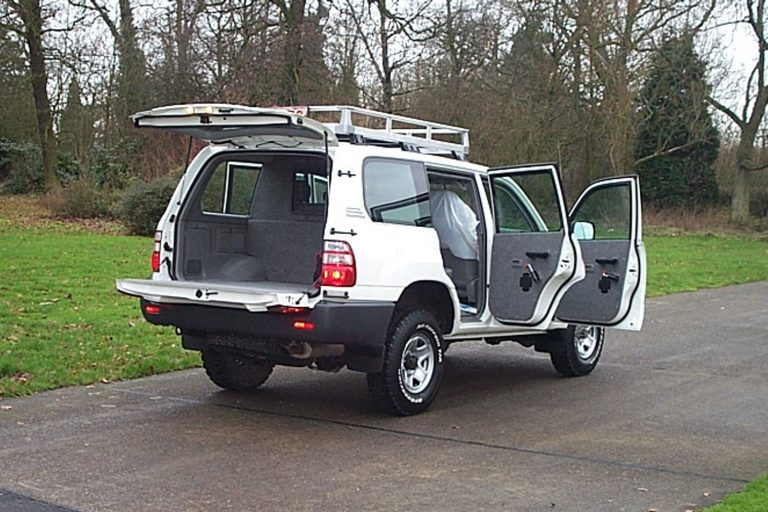 Security vehicle conversion
