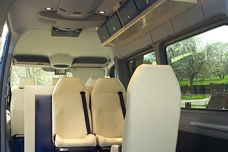 Special-purpose transport van