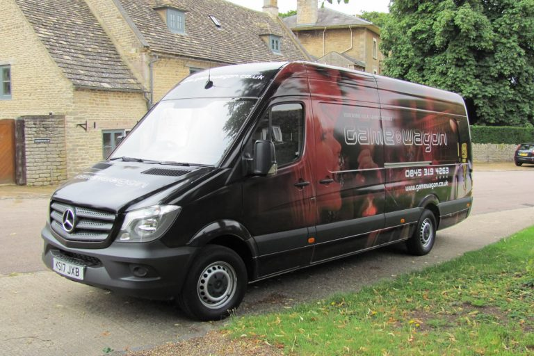 Van conversion nearside