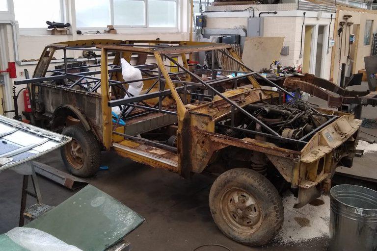 Vehicle rebuild