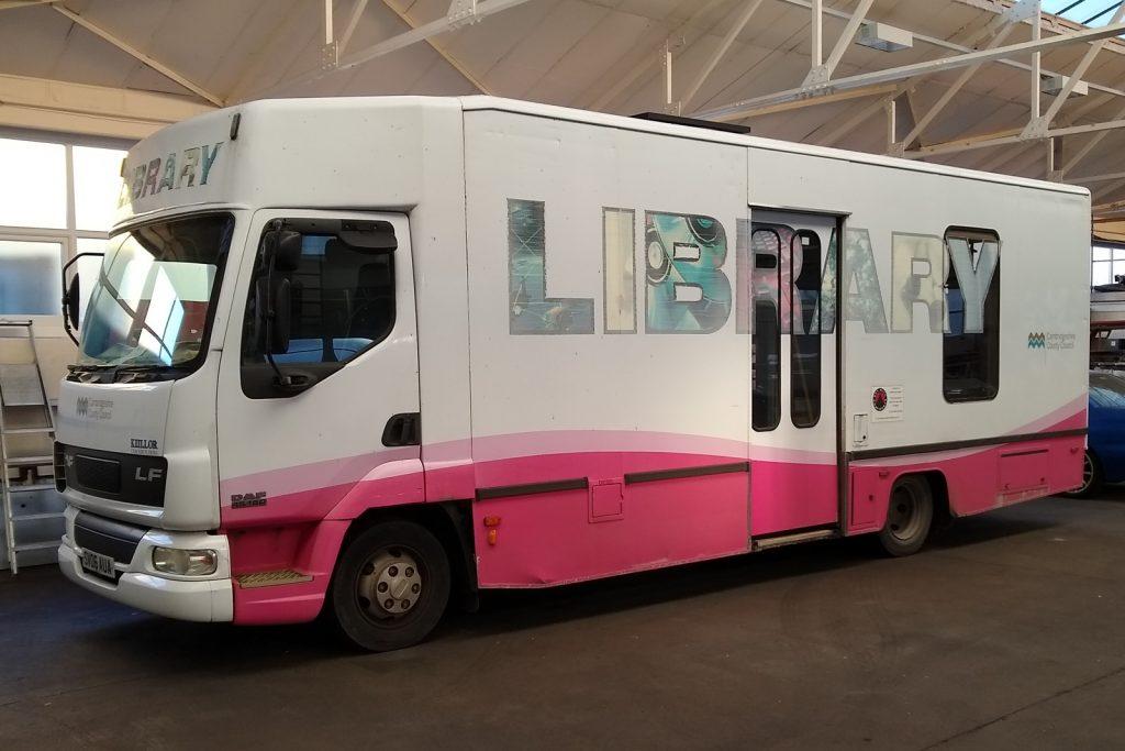 exhibition trailer and vehicle refurbishment