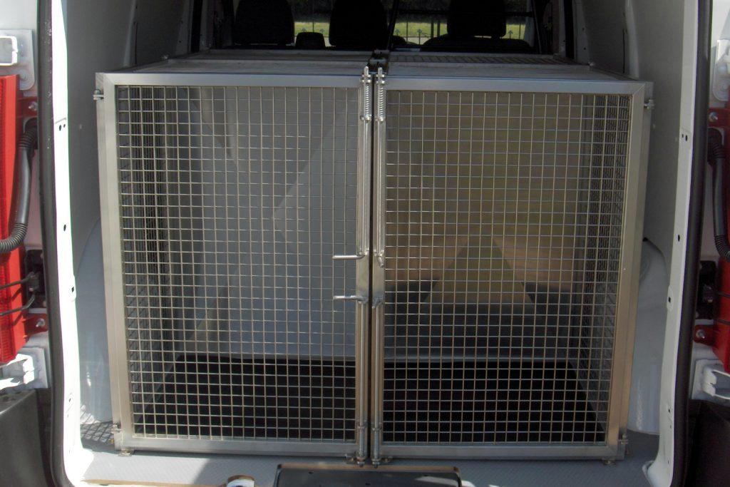 dog-van cage