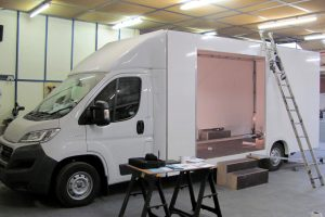 chassis cab in production at Multi Vehicle Technology
