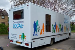 mobile library with new graphics