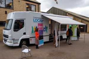 mobile library conversion with changed apperance