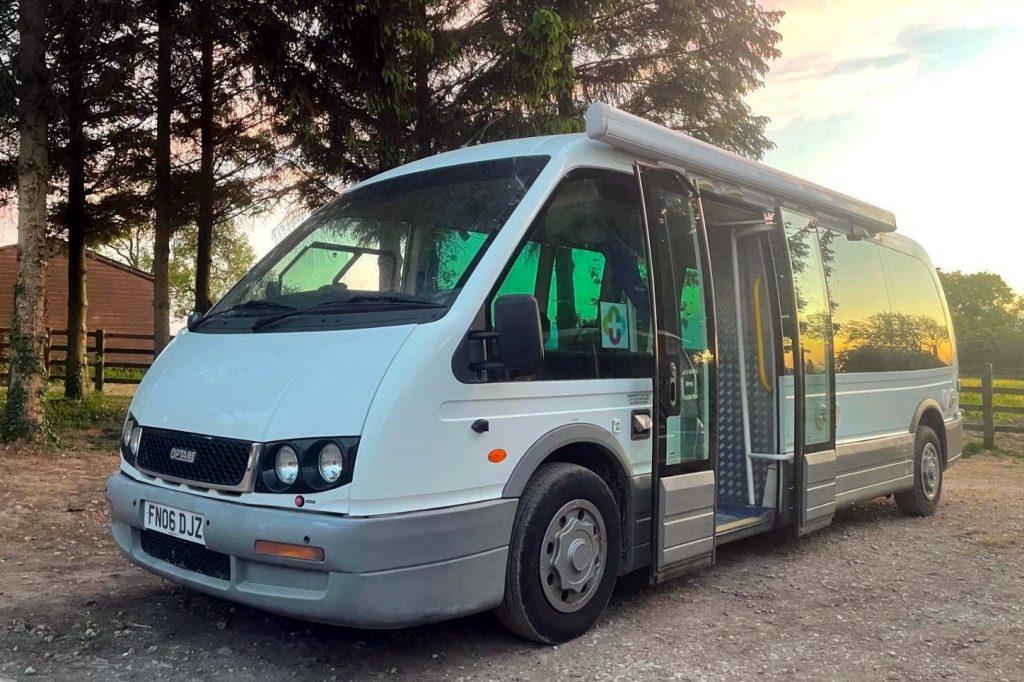 Long wheel base optare bus