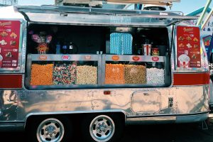 american airstream trailer selling american sweets